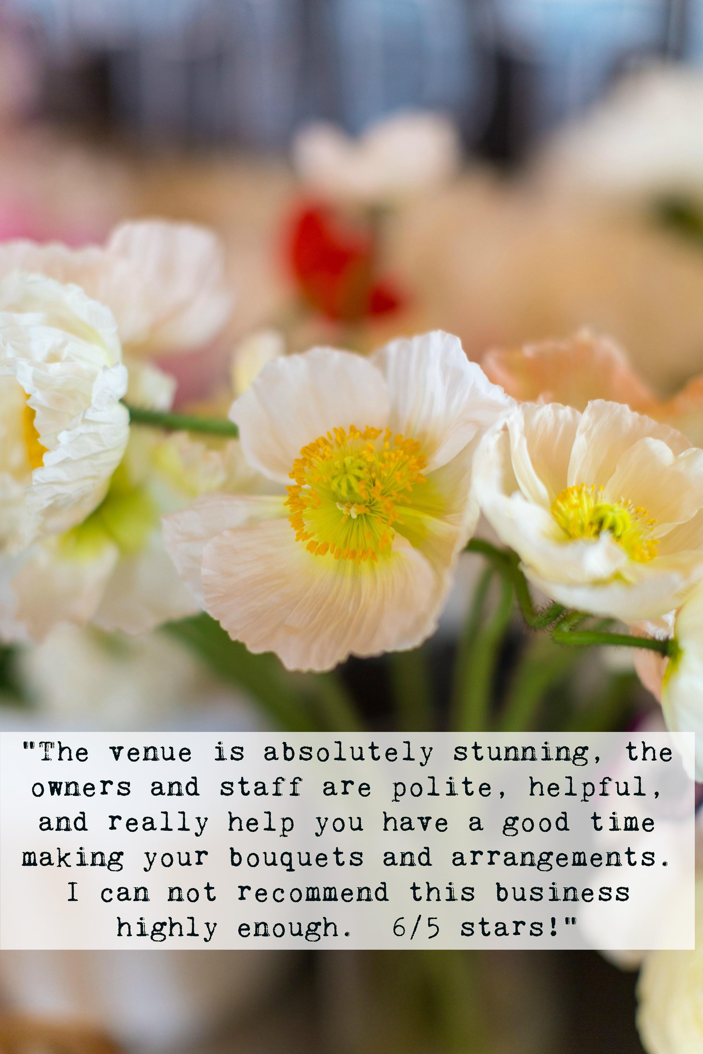 A Milkhouse Party floral workshop review