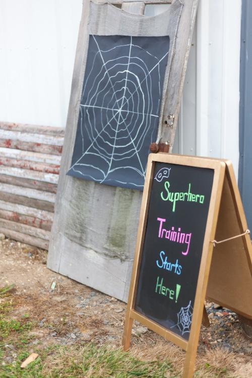 superhero - bbq - family friendly - kid party