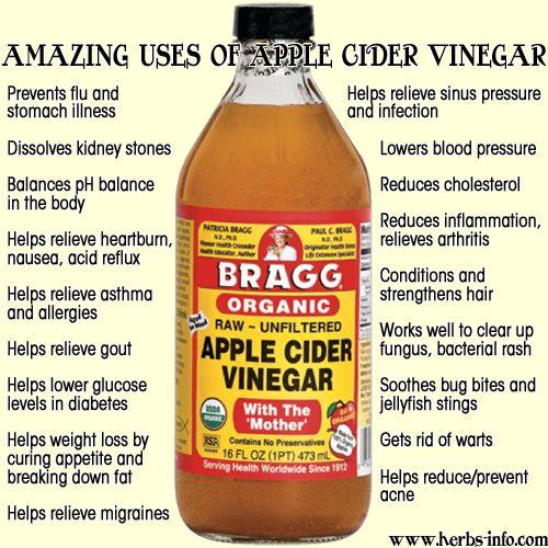Bragg Organic AVC is by far the best!