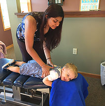 Dr. Patel specializes in chiropractic care for women and children. Learn more about the benefits for children  HERE.
