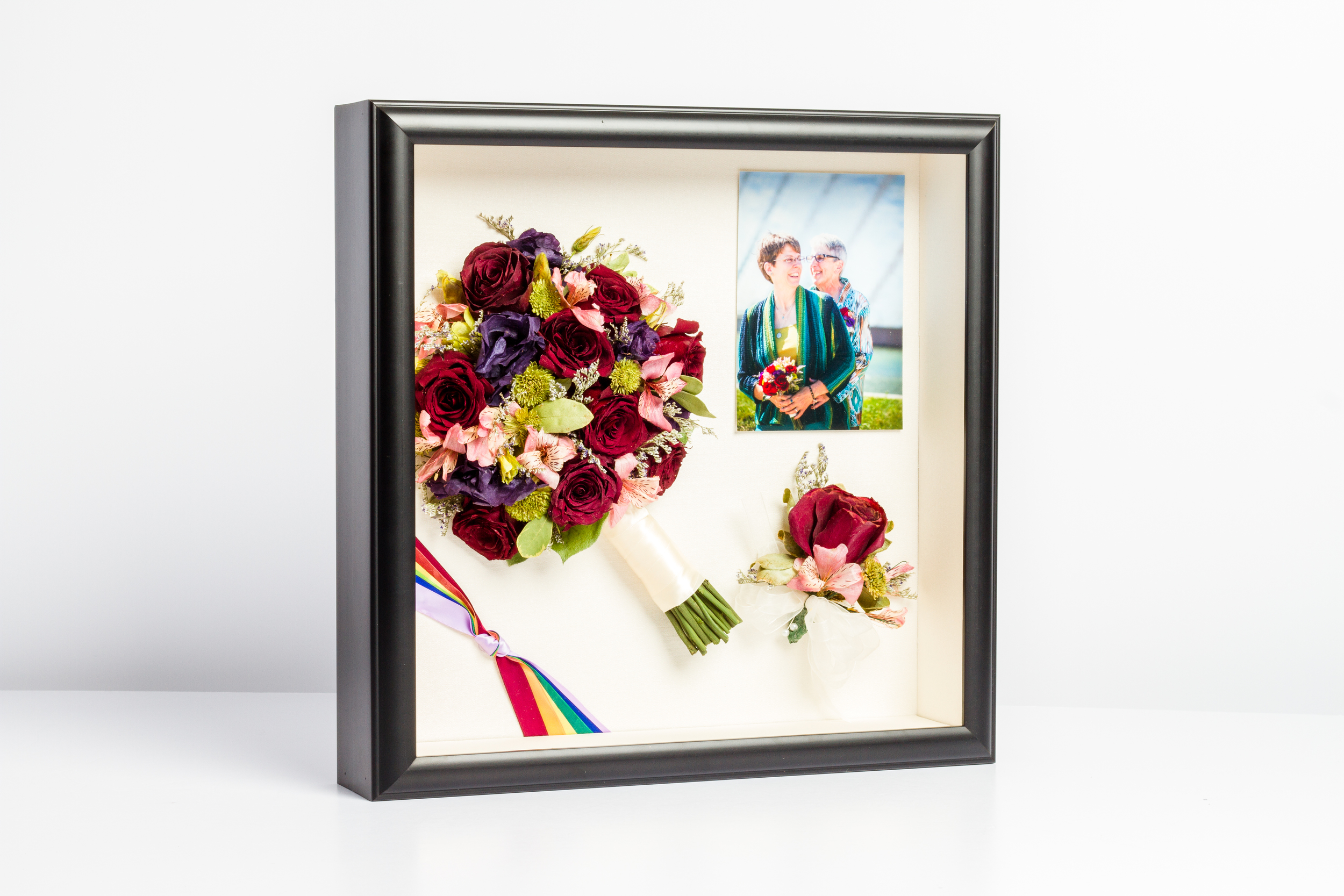 STORYBOOK (bouquet+bout+ribbon+photo)