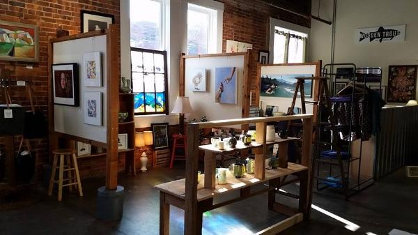 Wooden Trout Art Gallery - Downtown Harrisonburg, Virginia