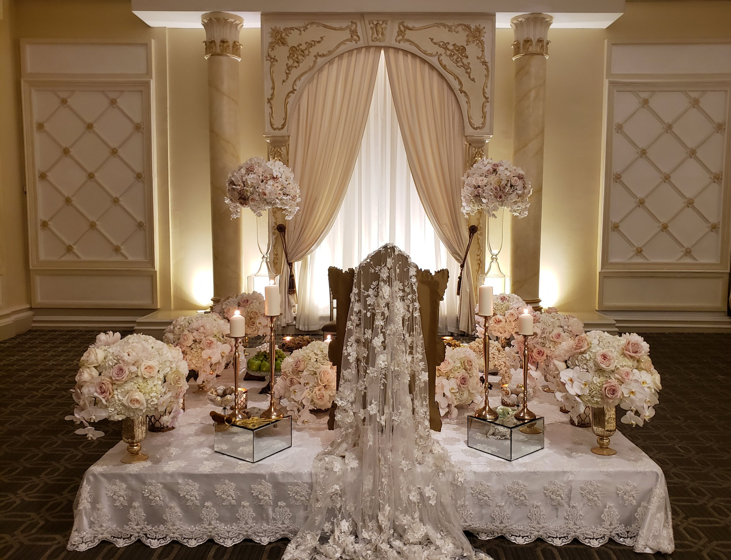 Antique Sofreh- Paradise Banquet Hall