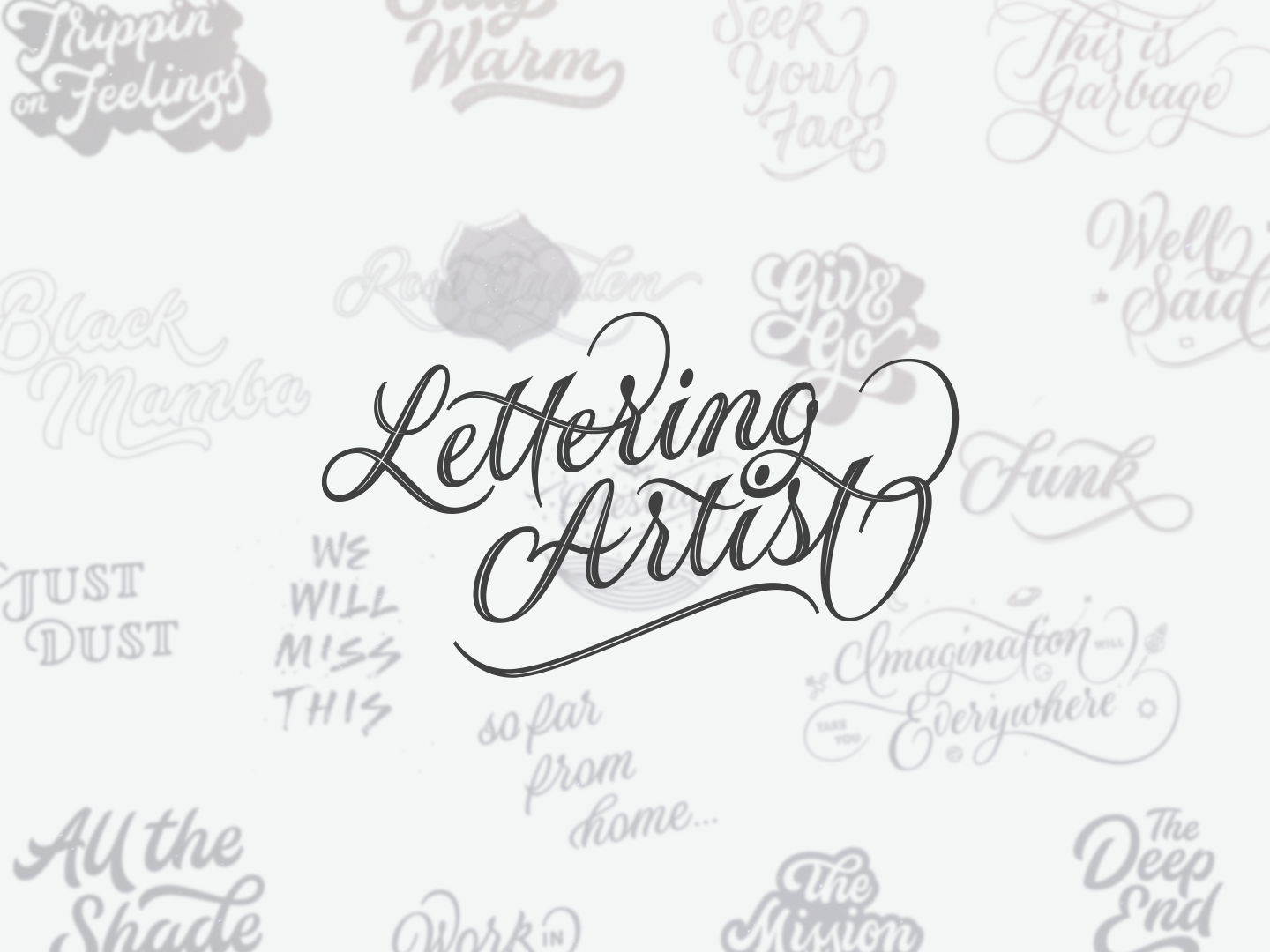 Select Lettering Work