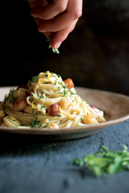 The Four Season of Pasta FettucinewithScallopsandLemonMHTJPC0218.jpg