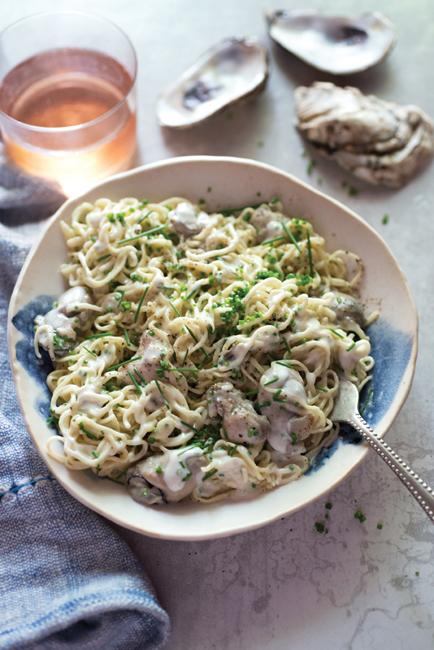 The Four Season of Pasta TaglioliniwithFreshShuckedOystersCrèmeFraicheandChivesMHTJPC0598.jpg