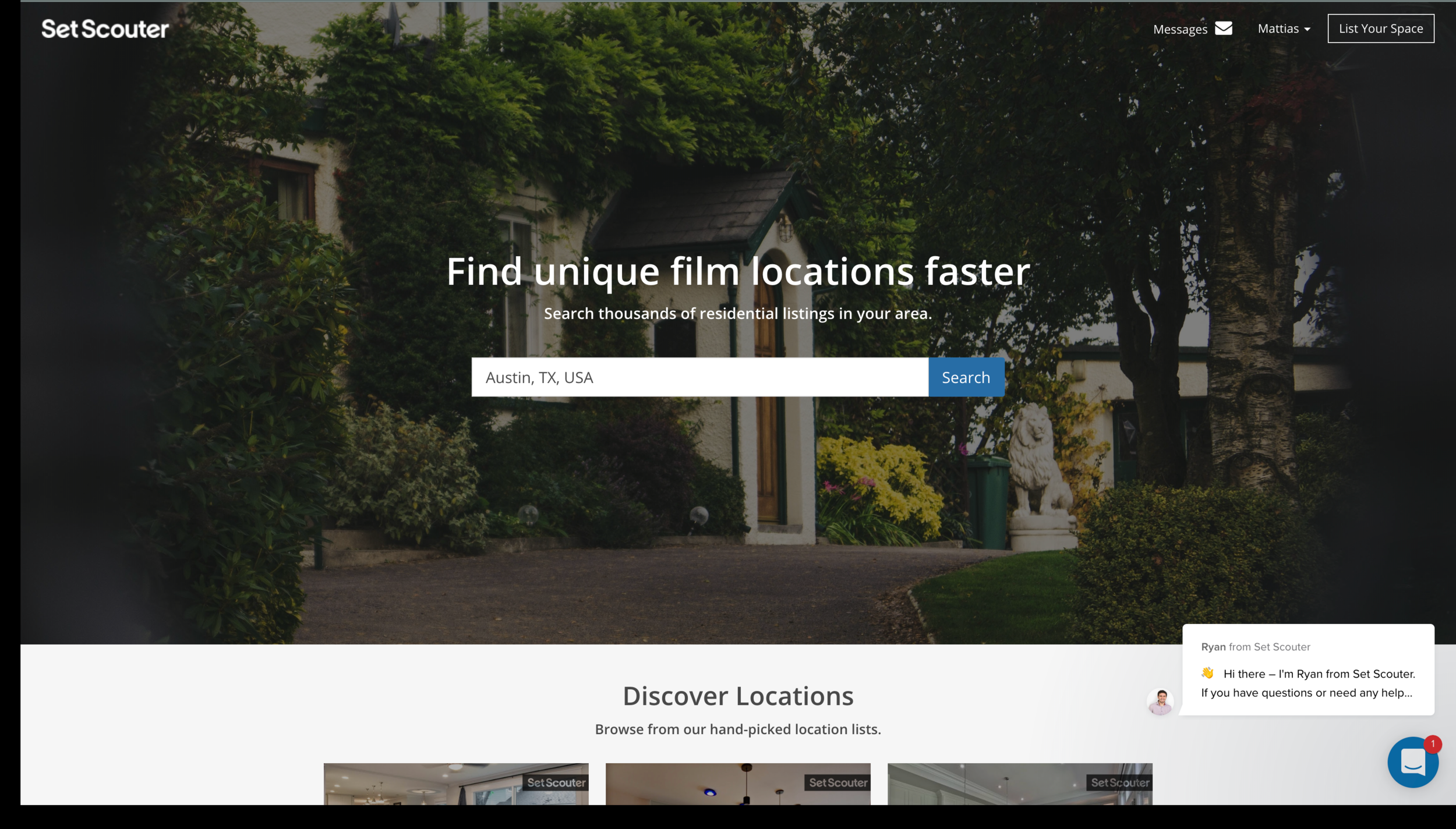 Set Scouter - WEB: https://www.setscouter.comWHAT'S IT FOR? Location Scouting.