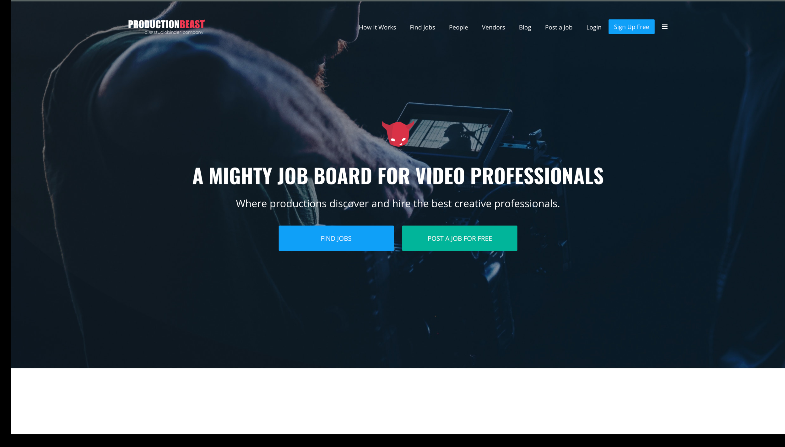 Production Beast - WEB: https://www.productionbeast.comWHAT'S IT FOR? Crew Hiring