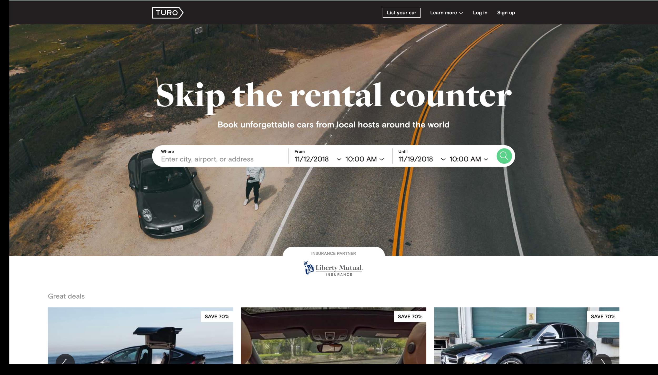 Turo - WEB: https://turo.comWHAT'S IT FOR? Car Rental
