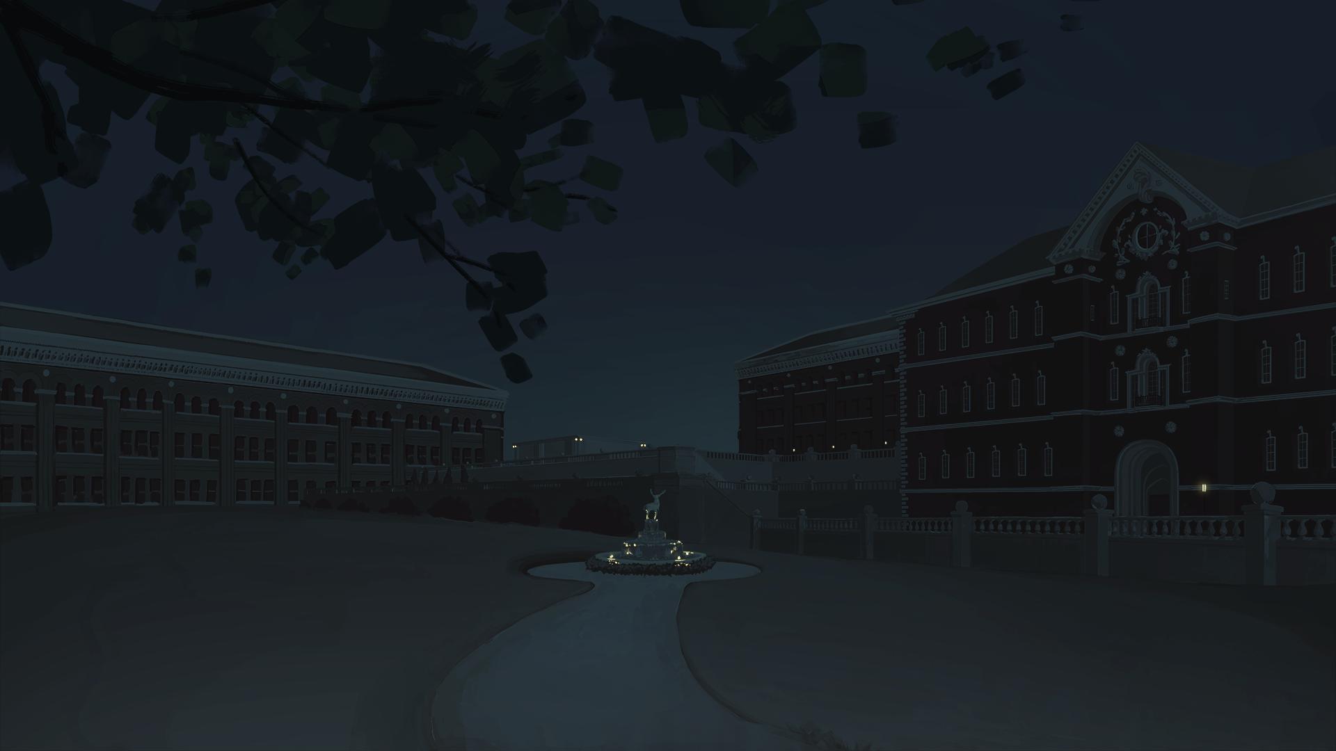 University Courtyard 03 | B. Chau