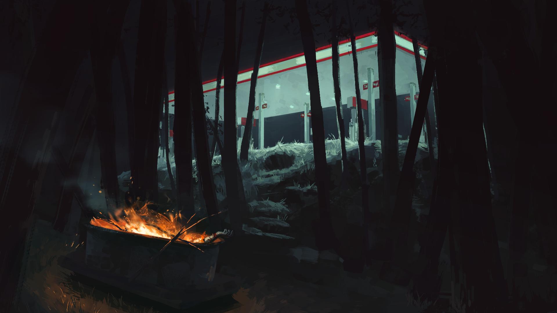 Gas Station | B. Chau