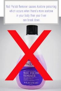 Traditional Nail Polish Remover Causes Acetone Polish