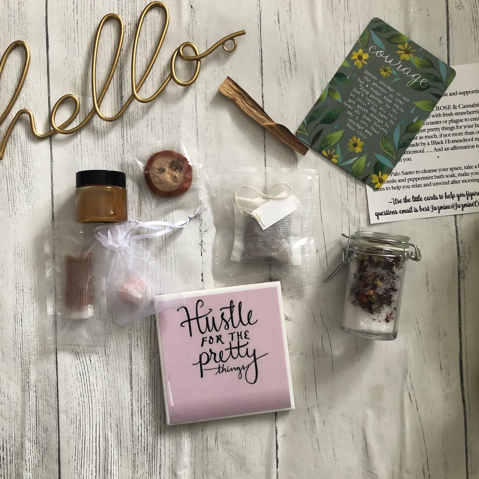 I want to bring you wellness - By offering Monthly Wellness Boxes!!!