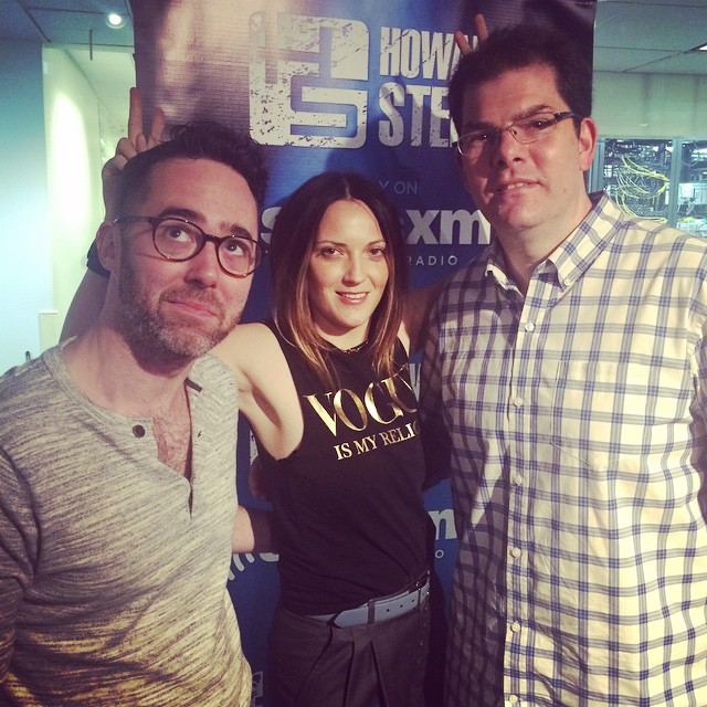 Had so much fun on Howard Stern Wrap Up show today discussing Engagement Chicken. Thanks Jon Hein and Steve Brandano!!     I'll be back on Thursday - tomorrow - May 28th. 11 am. Howard 101 on SIRIUS/XM