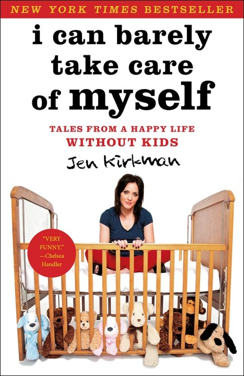 I CAN BARELY TAKE CARE OF MYSELF - RELEASE DATE APRIL 2013An instant New York Times Bestseller!In her first memoir, stand-up comedian Kirkman takes a seriously humorous stance on deciding not to have kids. She includes stories on dating, babysitting, and what happens after performing a comedic set, but they all support the main point of her book—that she doesn't want any children. With the novelist's penchant for self-flagellation and exploitation, and jokes punctuating at least every page, this book is ideal for the woman who needs a quick comeback for those who criticize her about not having kids, or for those just looking to laugh. Publishers Weekly