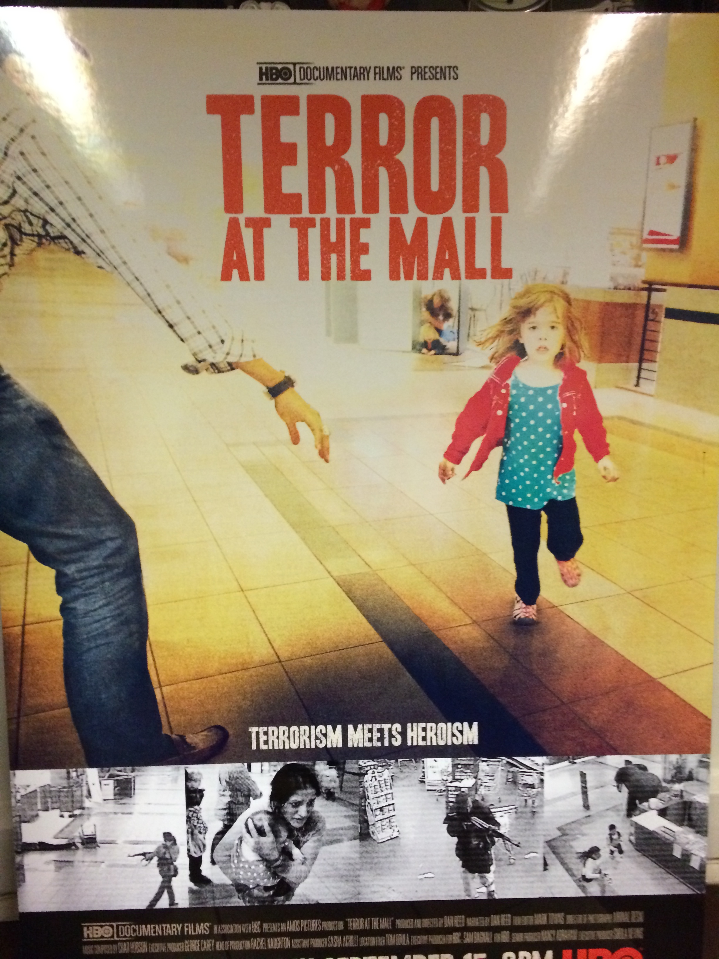 Terror at the Mall, HBO, Composer