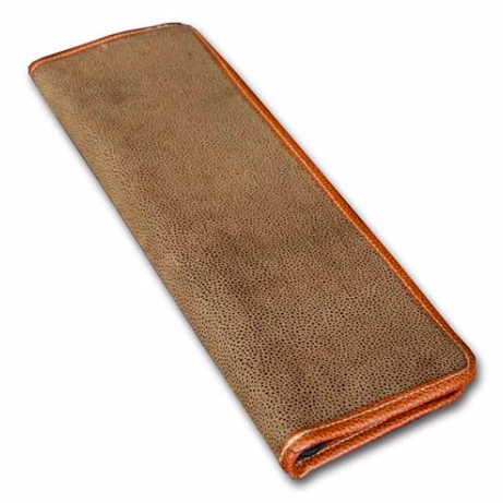 Men's Tie Case - Dark Brown $27