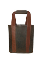 Dark Brown Scotch Grain Party To Go Tote $37