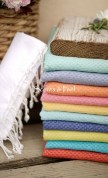 Fouta Solid Color Honeycomb $45  (Available in multiple colors)