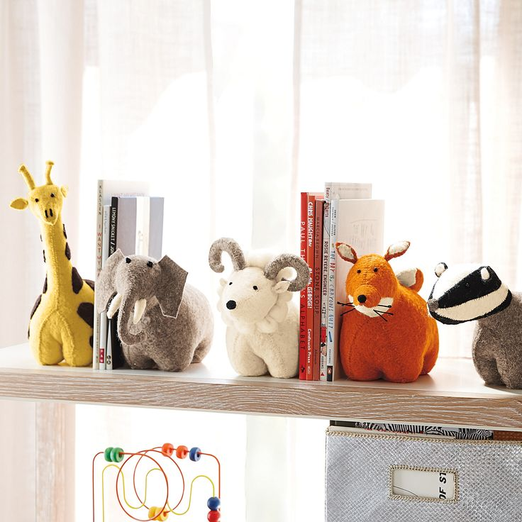 Set of 2 Animal Bookends $165