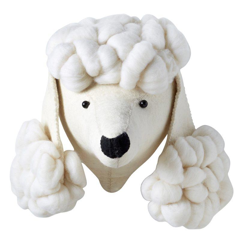 Poodle Head $165