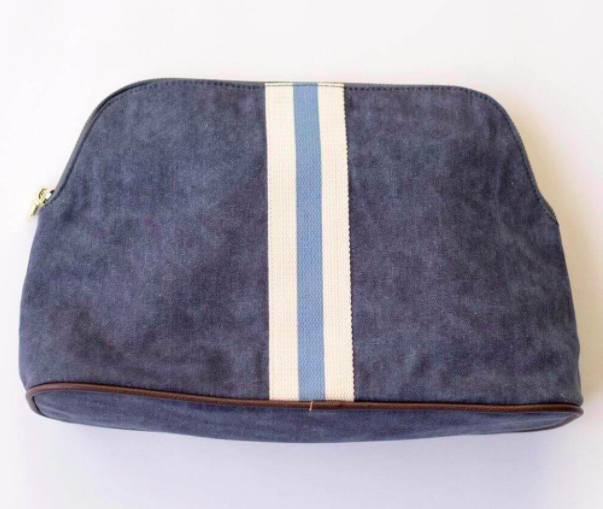 Admiral Blue Cosmetic Bag $40
