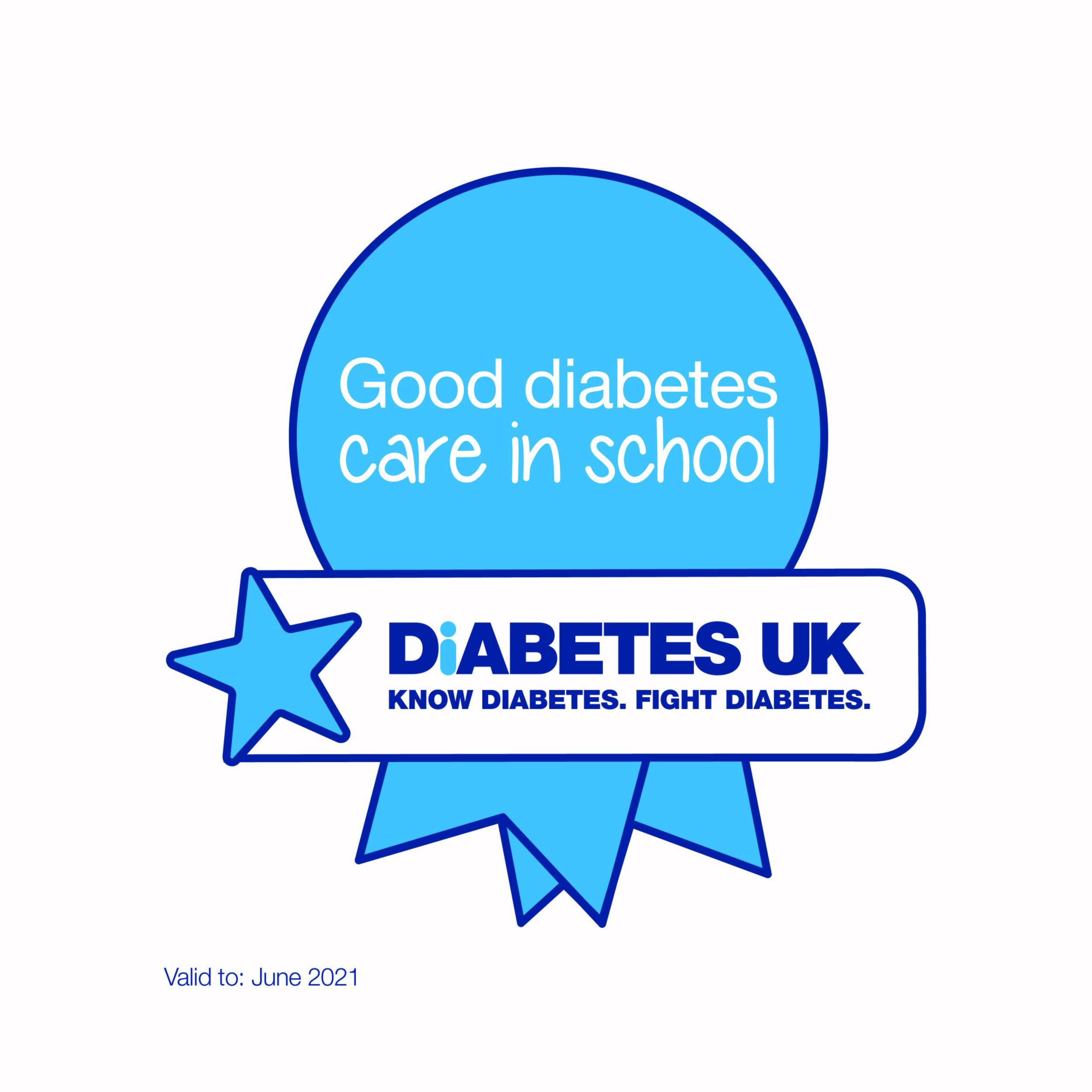 Good Diabetes Care in School Award