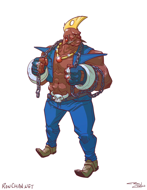 Street Fighter Alpha 3 Cast Ron Chan