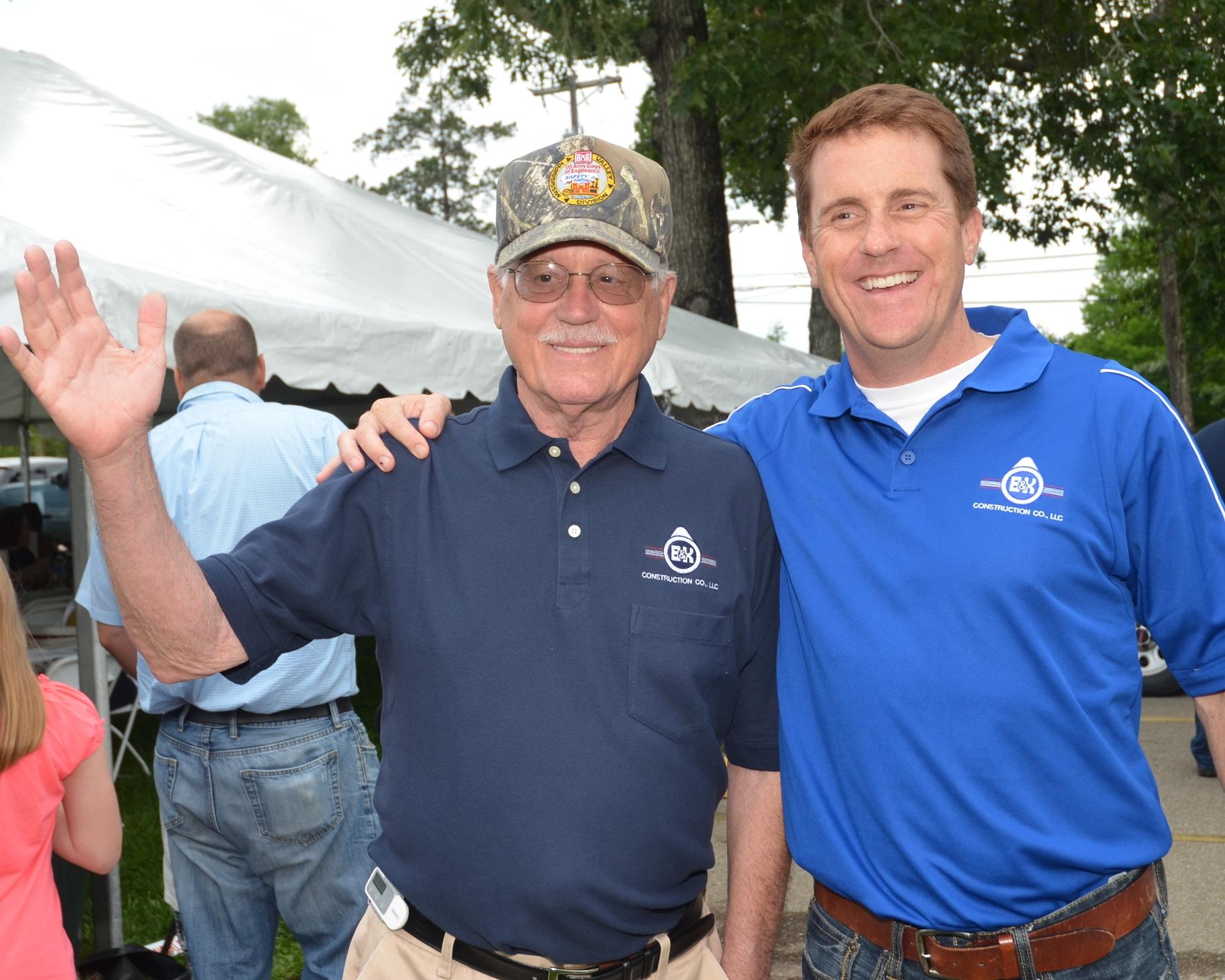 H.B Kenyon, President and Blake Andrews, Vice President