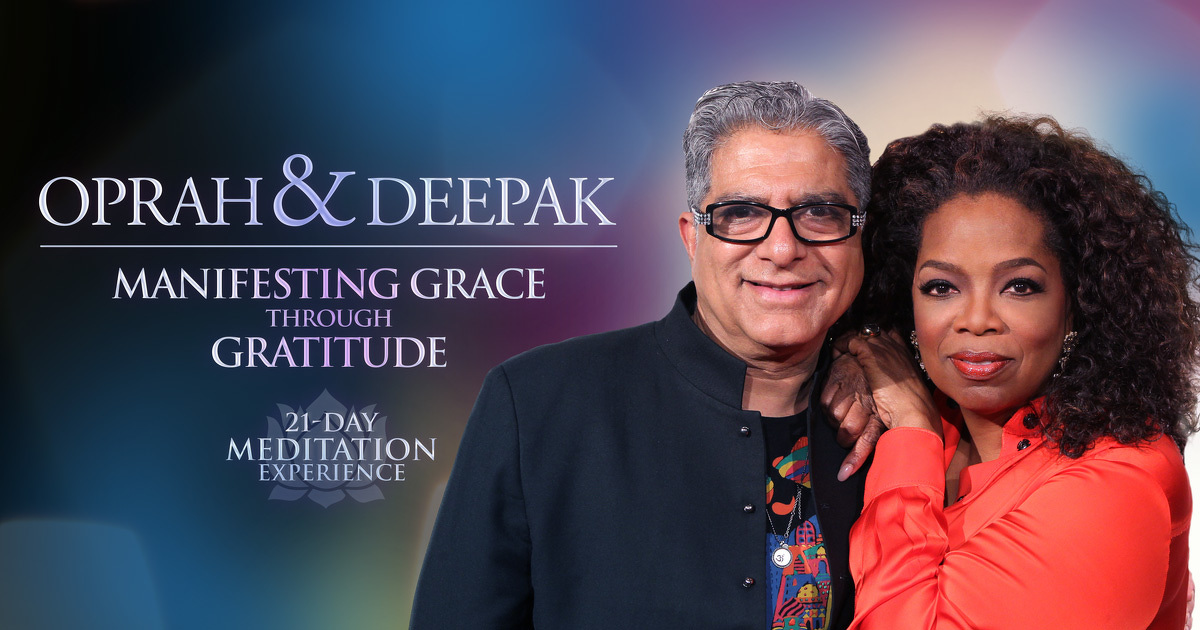 Oprah Winfrey and Deepak Chopra, COURTESY OF OWN: OPRAH WINFREY NETWORK