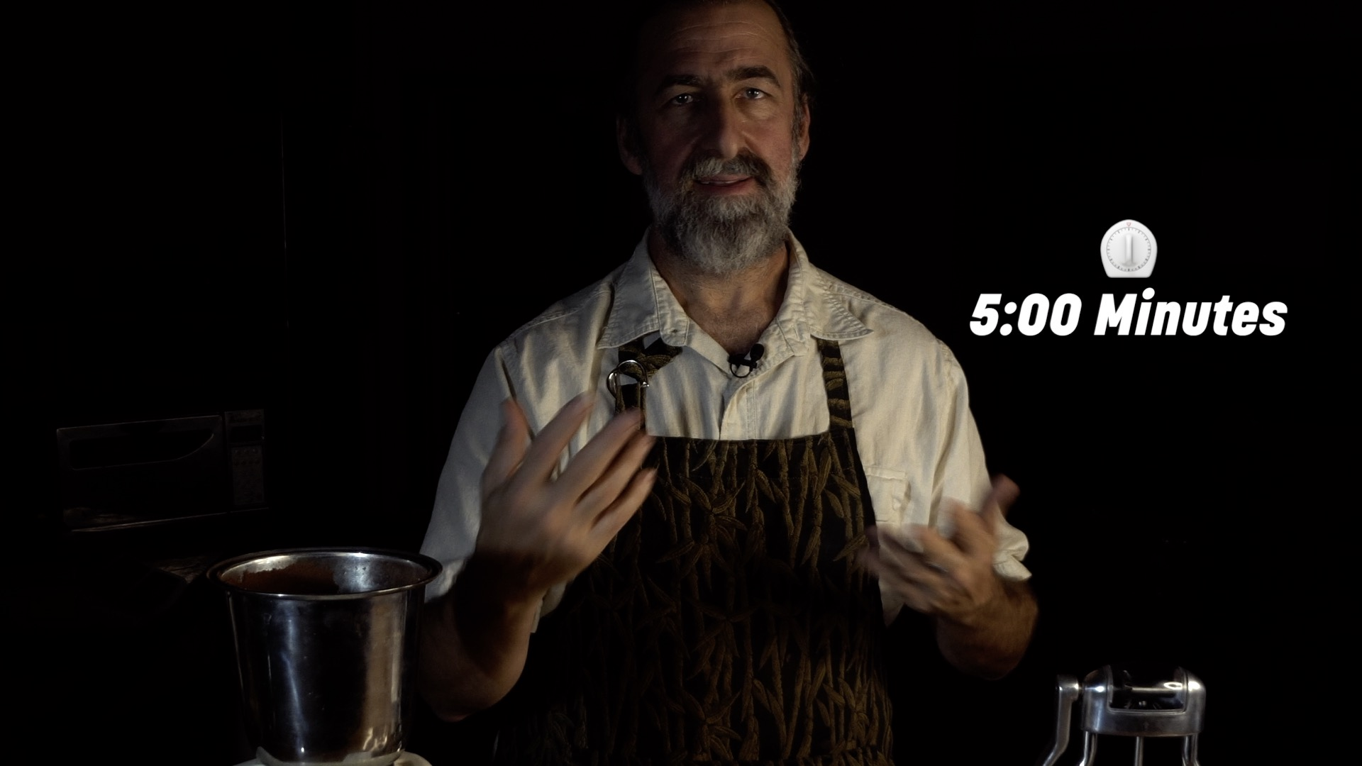 #5 Let it brew 5 minutes - The Alchemist says don't get crazy and go over 5 minutes. It becomes astringent and funky.