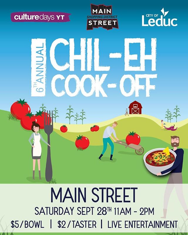 The fun never ends on Main Street! We hope you'll mark the Chil-Eh Cook Off in your calendar next month! Once again thank you for coming out to our summer events! What a blast!! #cookoff #chili #competition #trophy #winnerwinner #joinus