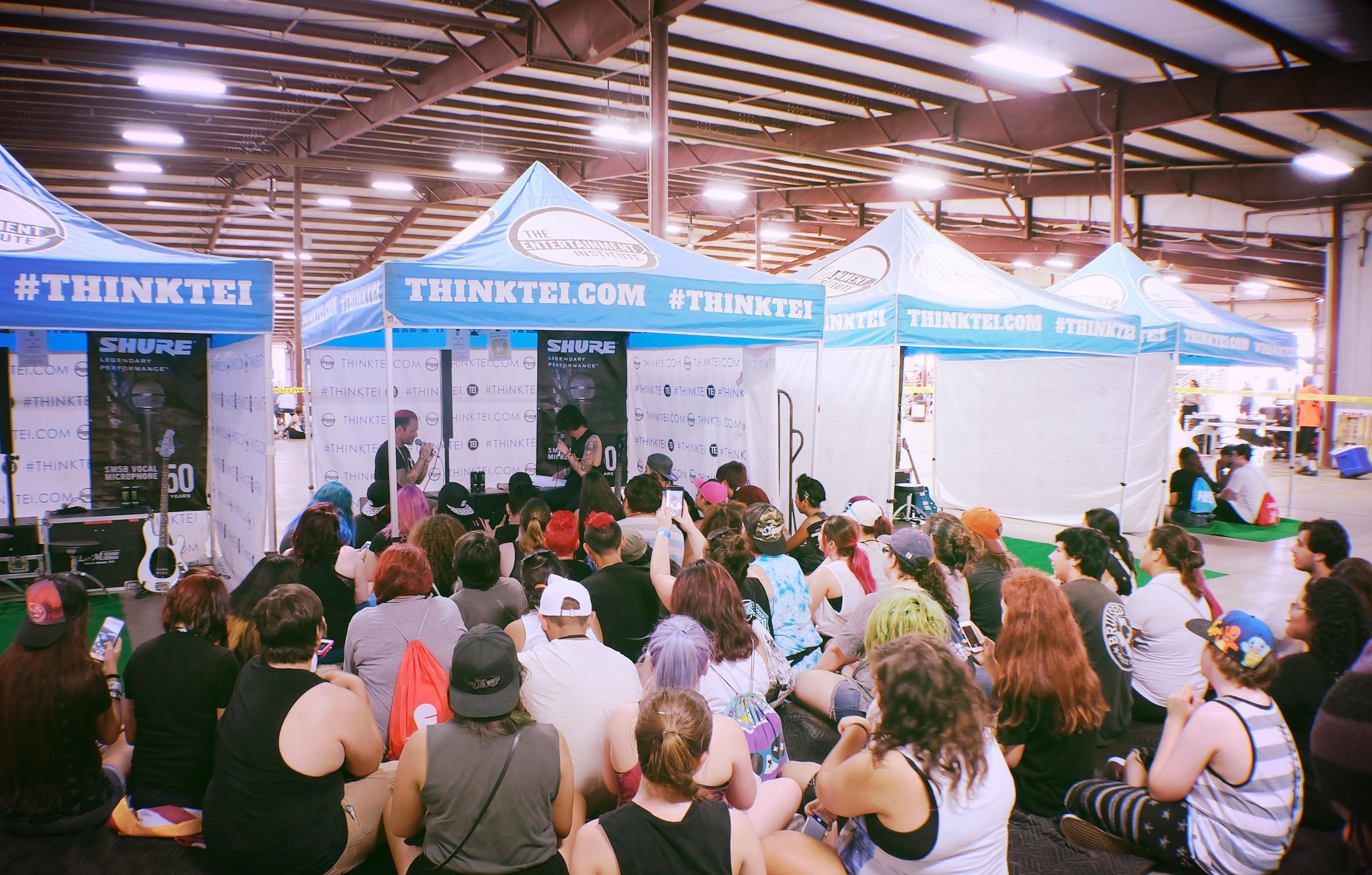 Nick and Kellin's TEI Workshop in San Antonio.