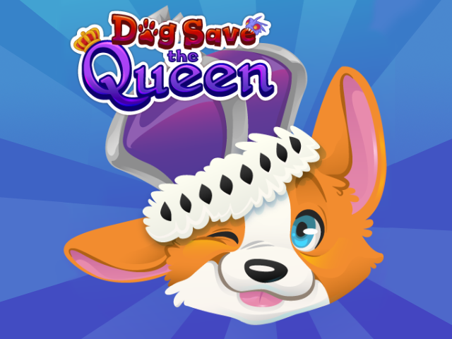 Dog Save the Queen by Aubrey Williams