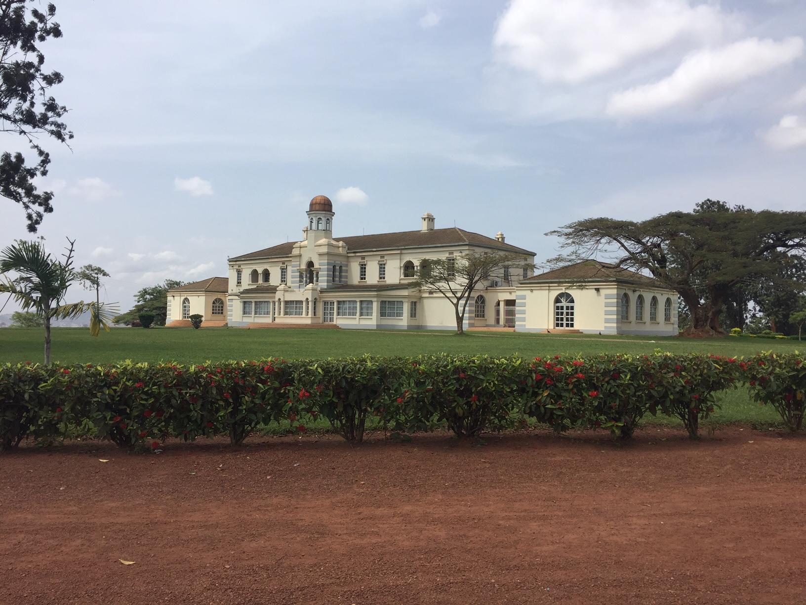 The King of Buganda's palace.