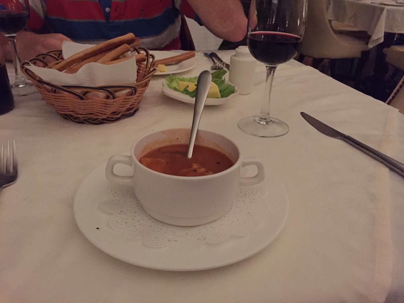 I do so adore a good tomato soup.