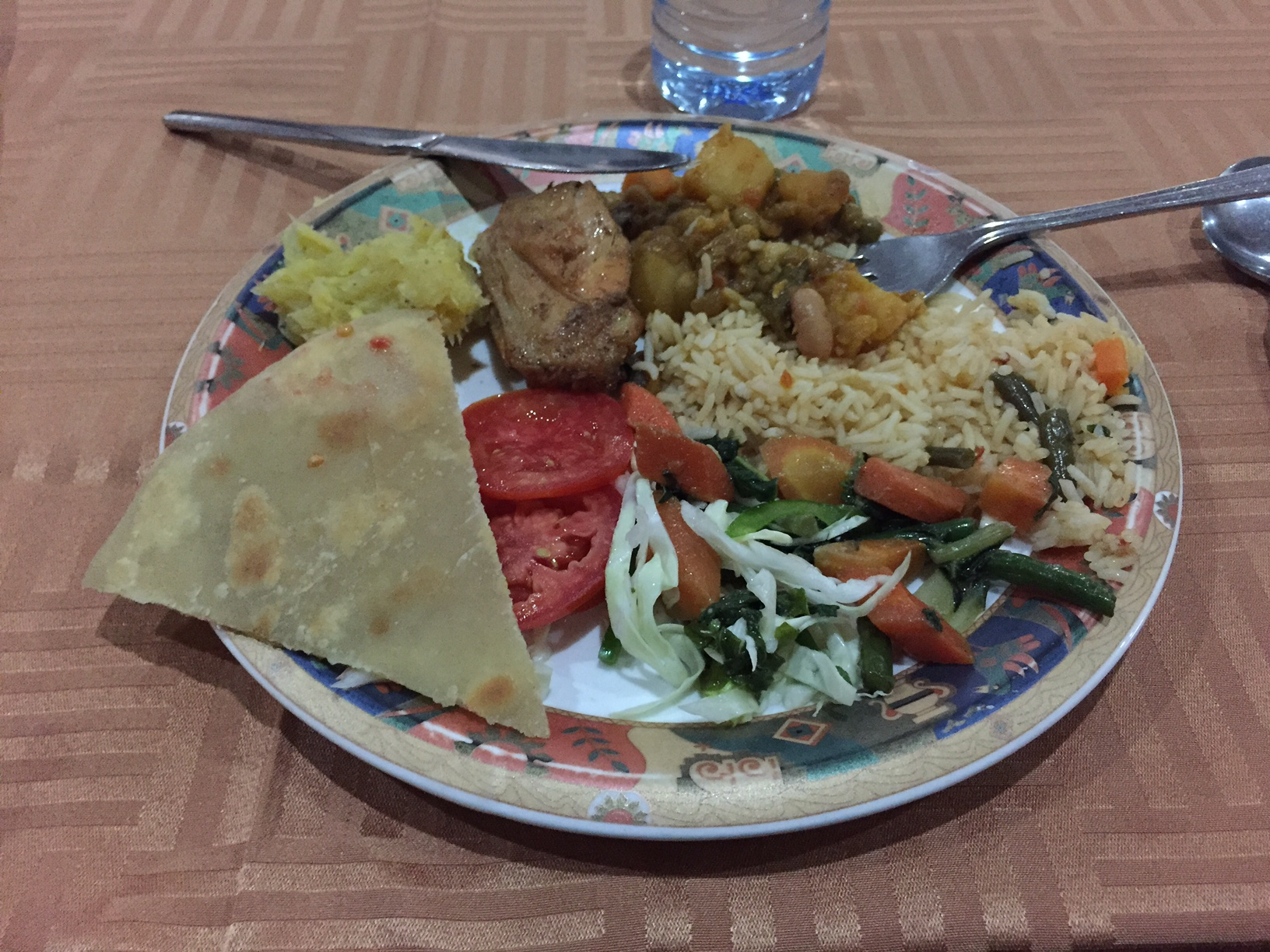 Food was actually quite good...though I was starving, so I may be unreliable.