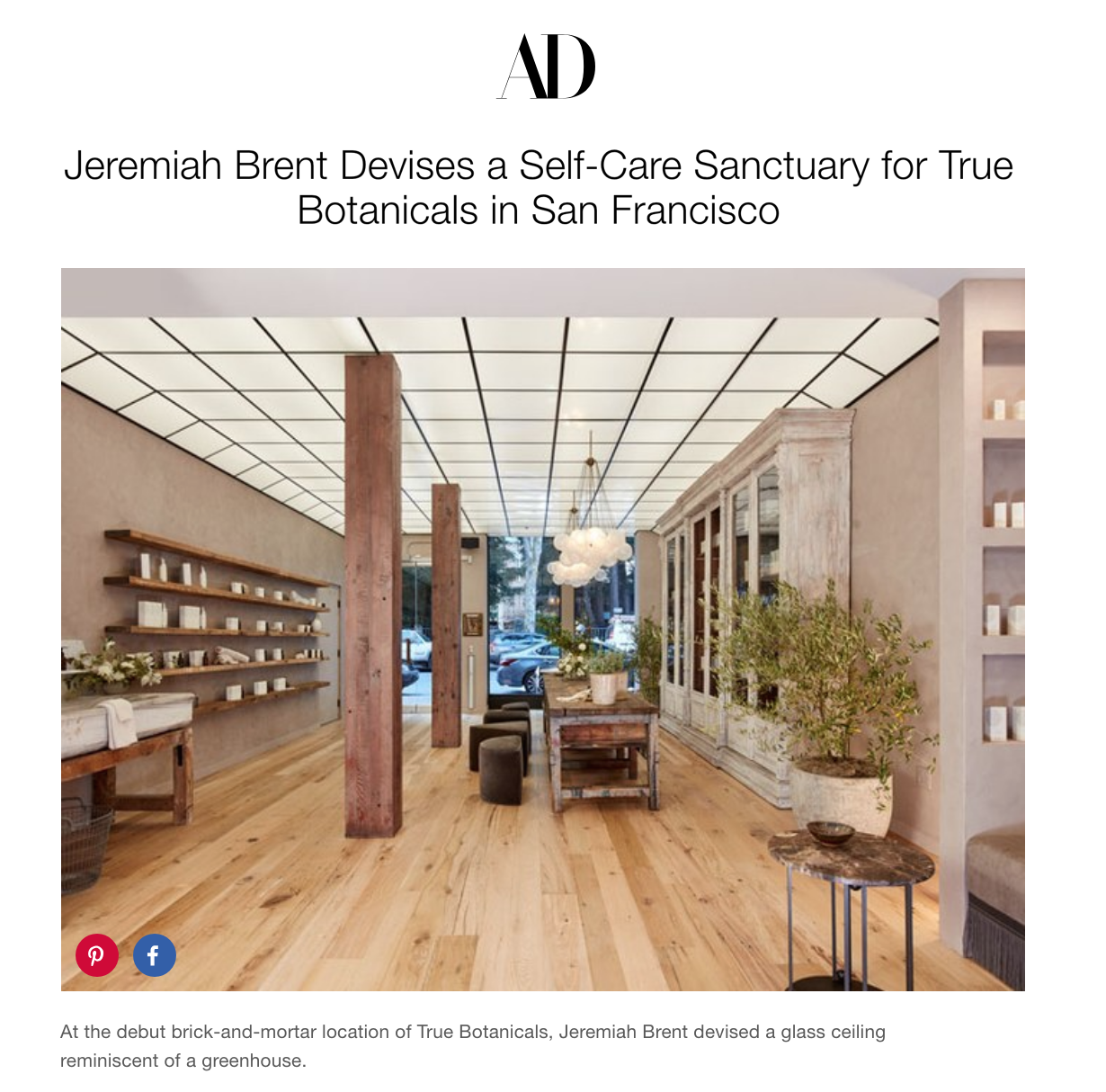 Architectural Digest, Nov. 2018