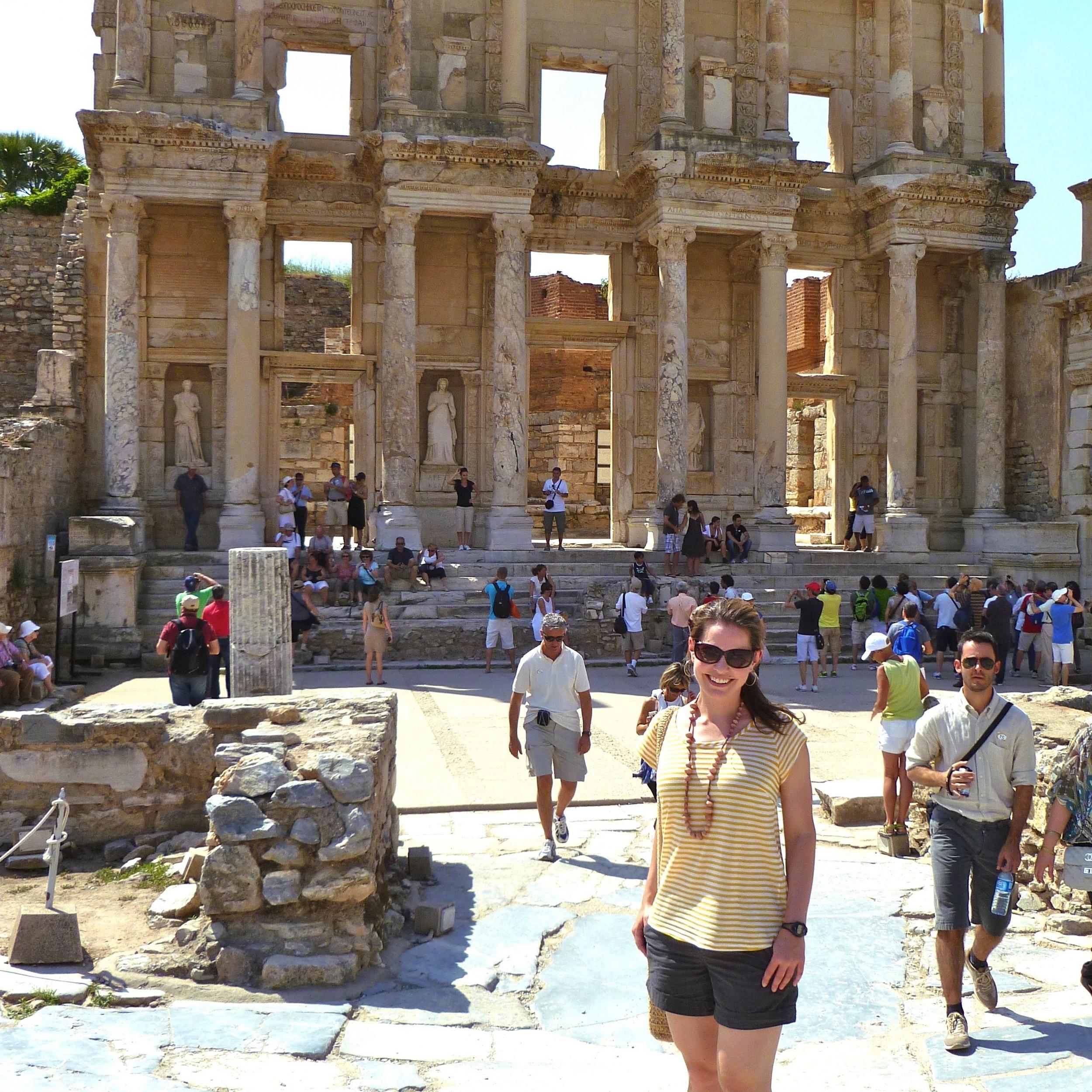 The Library of Celsus (Ephesus, Turkey)