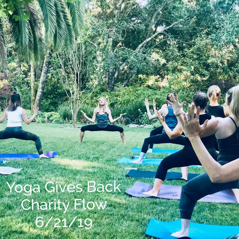 YOGA GIVES BACK Charity Flow