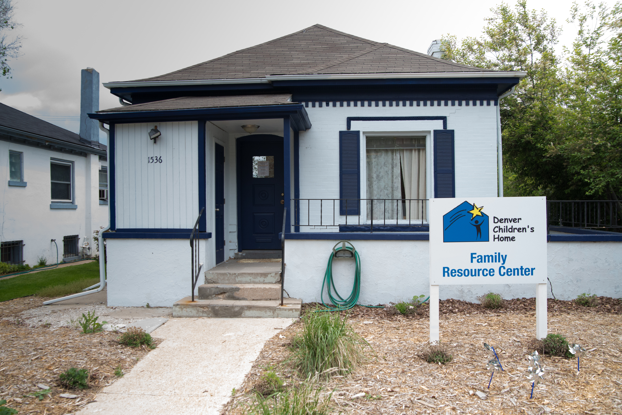 The Family Resource Center houses the Community-Based Services team of outreach staff and in-home therapists.