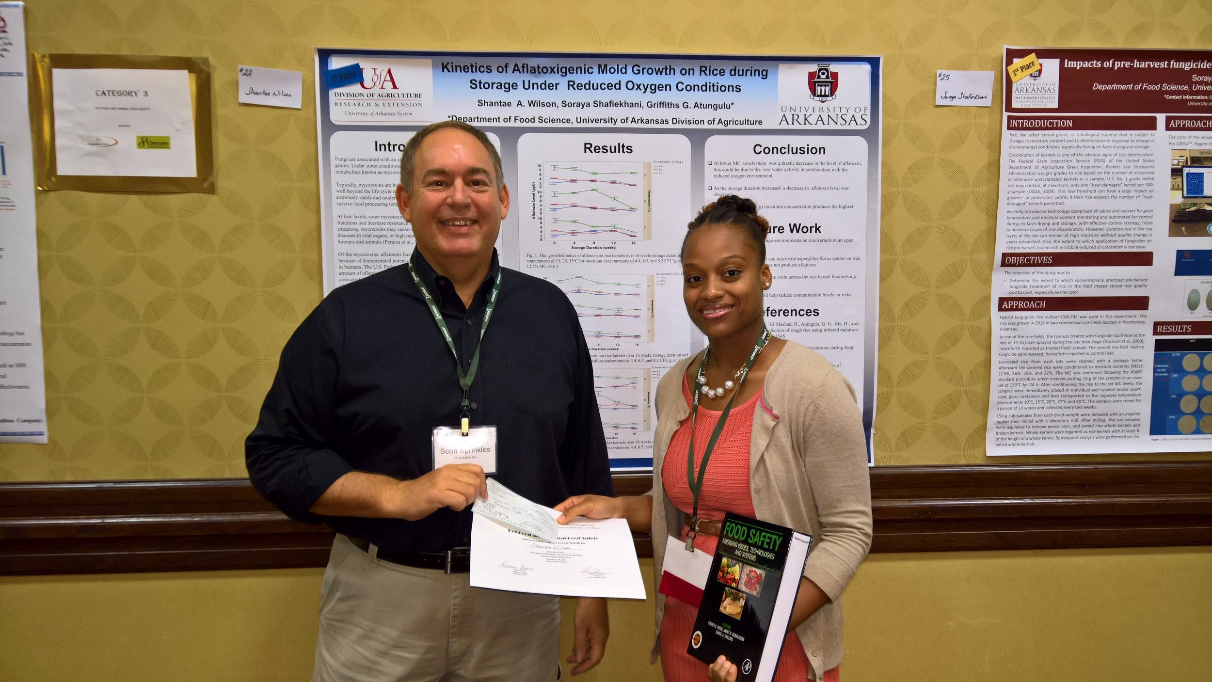 Shantae Wilson - University of Arkansas1st place Pet Food and Animal Feed Safety