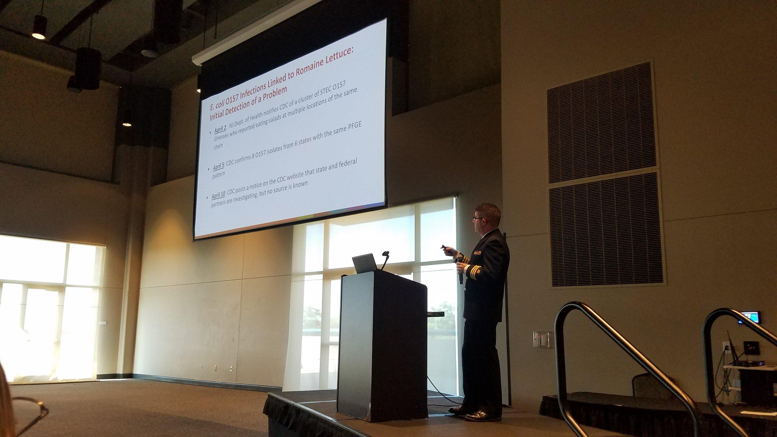 Dr. Mathew Wise, CDC