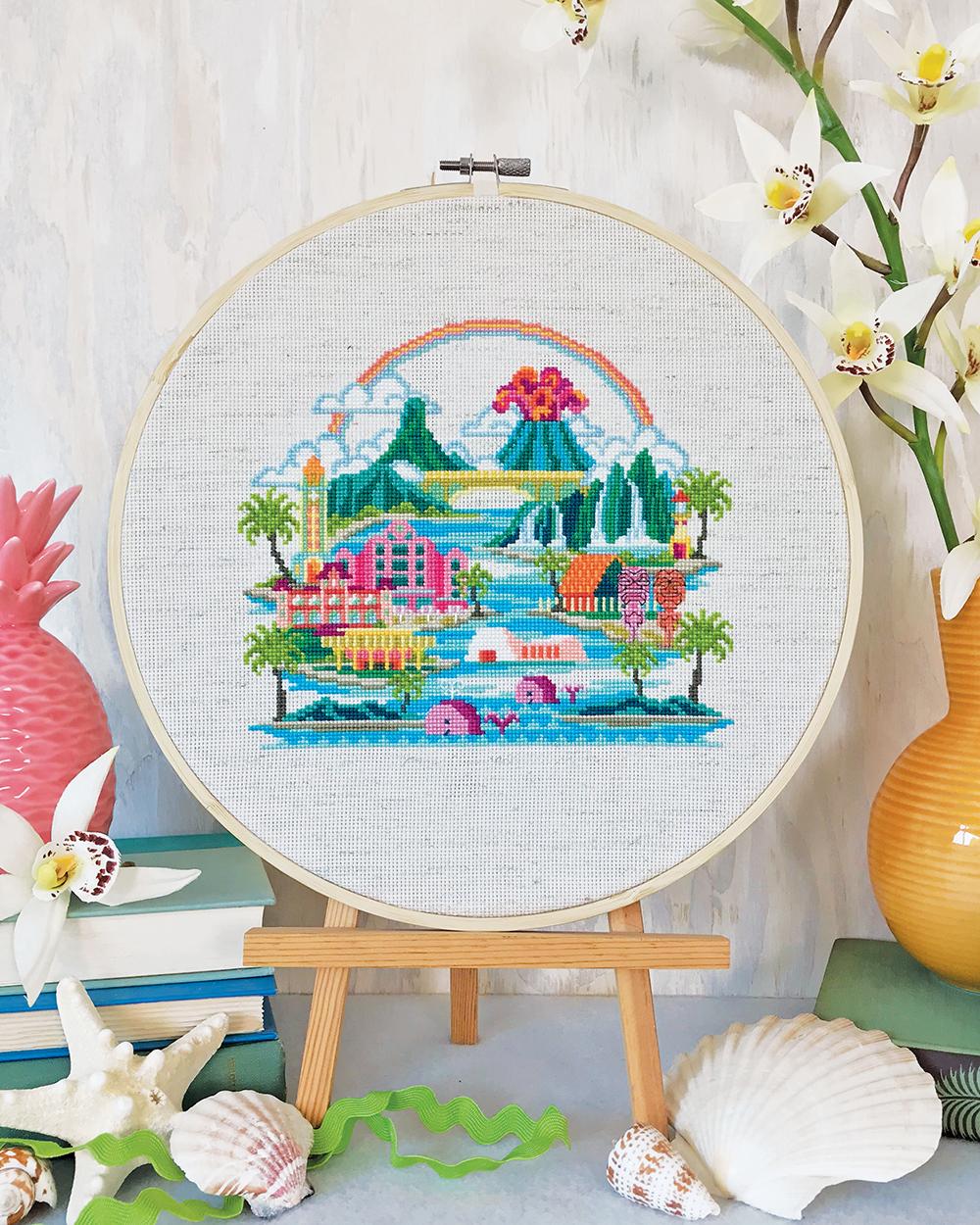 Put down that Mai Tai, you've got stitching to do!