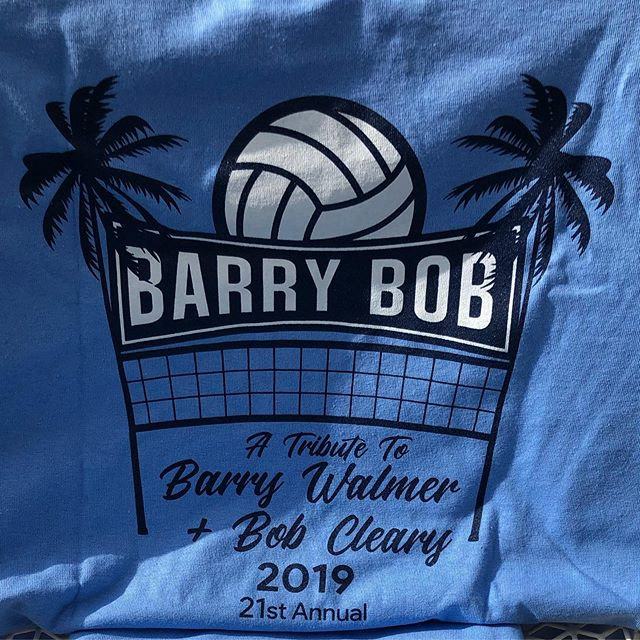 Loved how the Barry Bob shirts turned out this year! 🏐 #kaboomconstruction #graphicdesign #manhattanbeach #volleyball #sandvolleyball