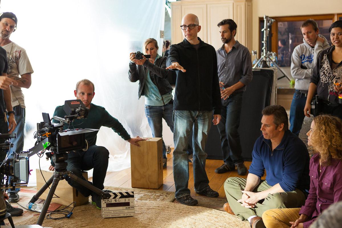 Director Andrew Putschoegl sets up the scene
