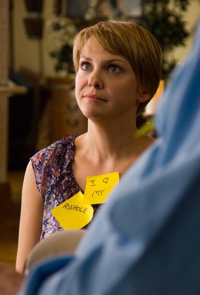 Chloe (Larisa Oleynik) gets her post-its on...