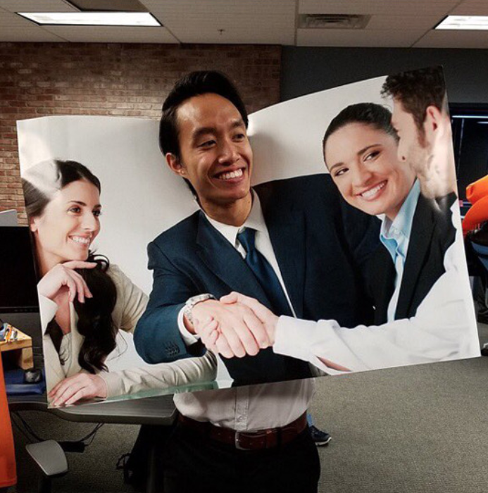 """I found this """"Stock Photo Halloween Dude"""" on Reddit from afterthesunsets"""