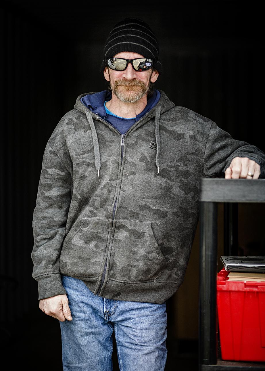 Joe   Goodwill Collection Trailer   Spotsylvania, Virginia   March 2018