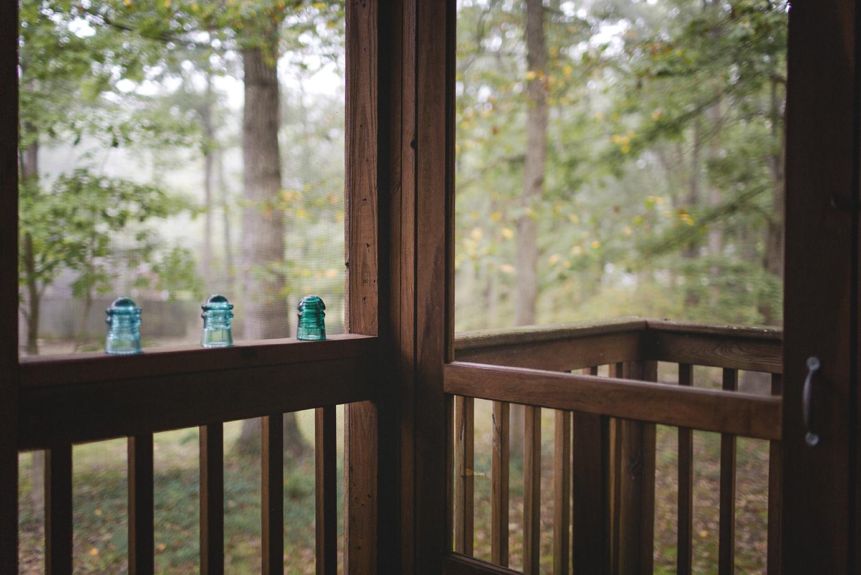 Back Porch, Home, Fall 2018